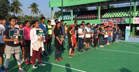 International Junior Tennis Championship begins in Rajshahi