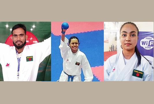 Al Amin, Marzan, Antara win gold in SAGames karate