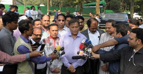 BNP's warning is tantamount to contempt of court: Hasan