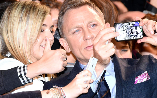 First glimpse of latest Bond film goes online