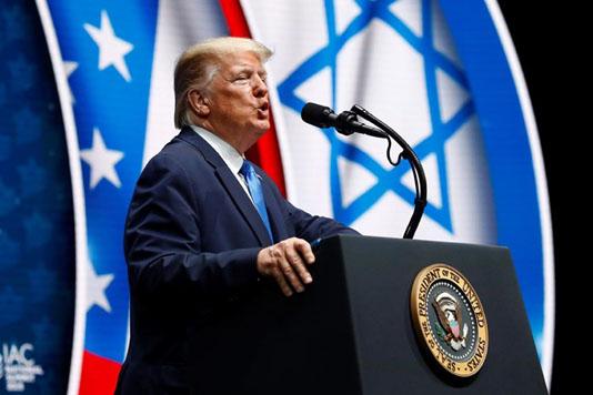 Trump tells Jewish-Americans he is Israel's best friend