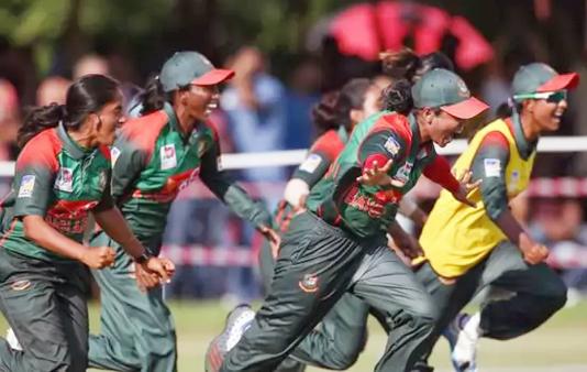 Bangladesh dump Nepal in SAG women's T20 Cricket