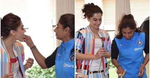 Taapsee Pannu to play  cricketer Mithali Raj in film