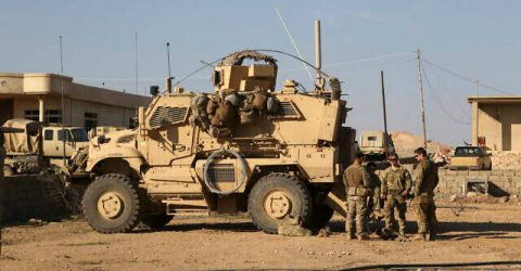 Rockets hit Iraq military complex housing US forces: army