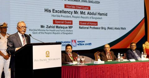 President for creating mass awareness against adulterated medicines