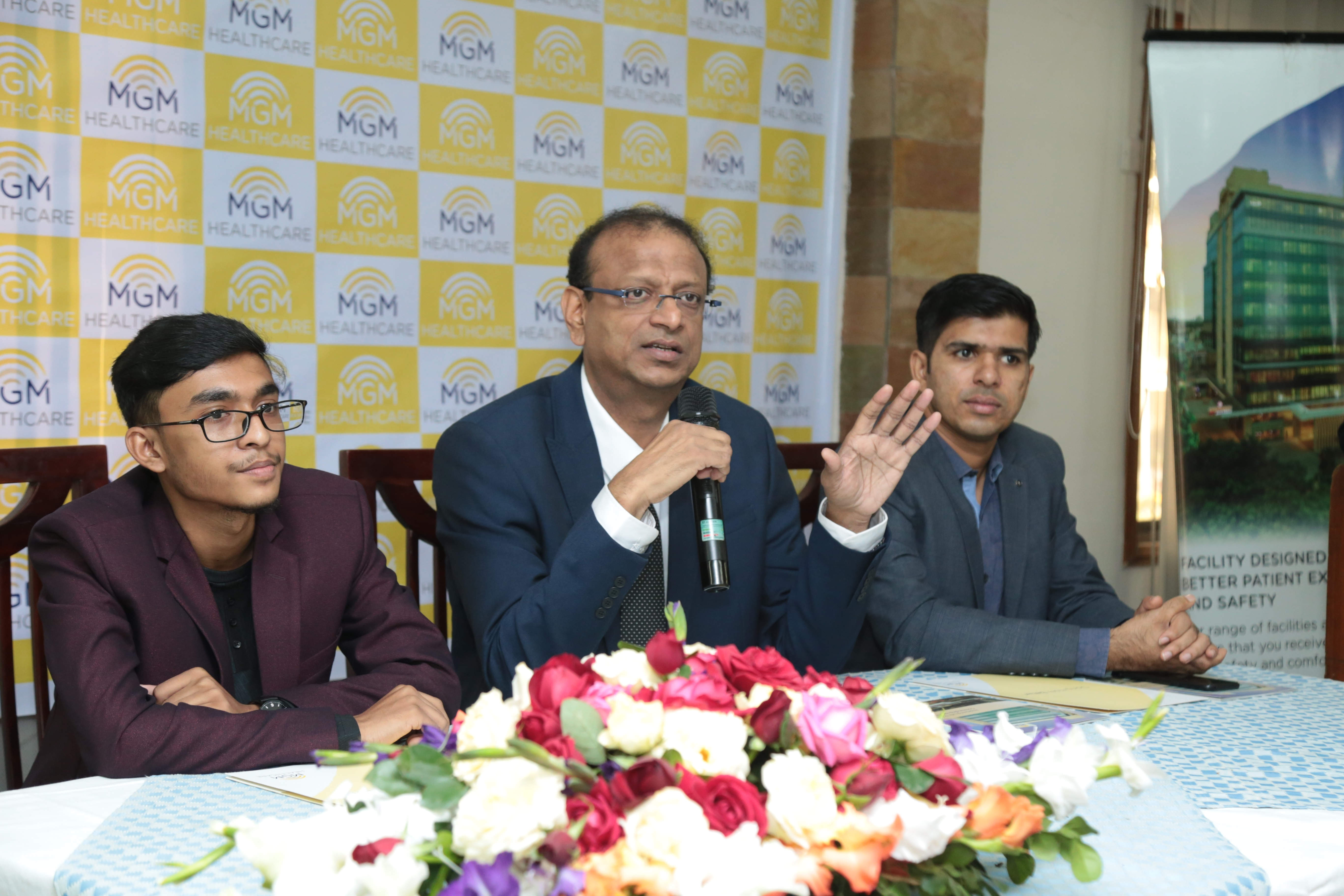 India's eminent ENT and Head-Neck Surgeon Prof Dr. Sanjeev Mohanty's press conference held