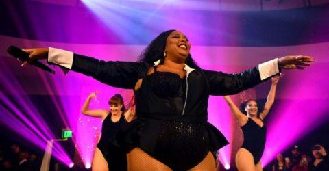 Grammy hopefuls set for glitzy gala as storm brews backstage