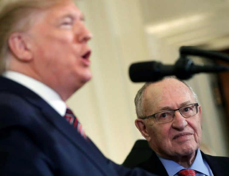 Ken Starr, celebrity lawyer Dershowitz join Trump defense team