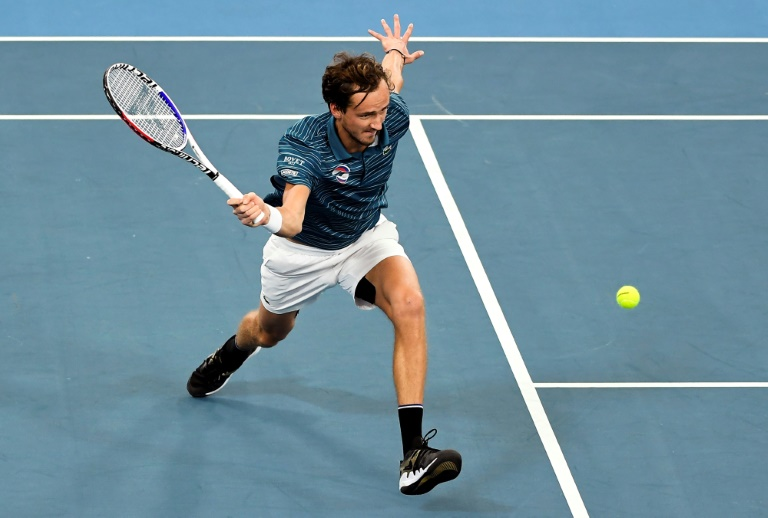 No 'lucky shower' as Medvedev looks to clean up at Australian Open