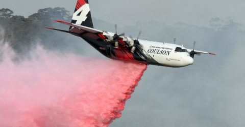 Three US firefighters killed in Australia water bomber crash
