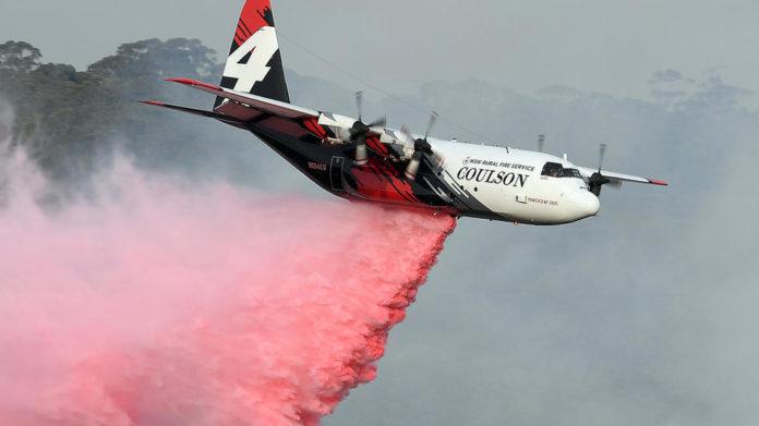Three US firefighters killed in Australia water bomber crash