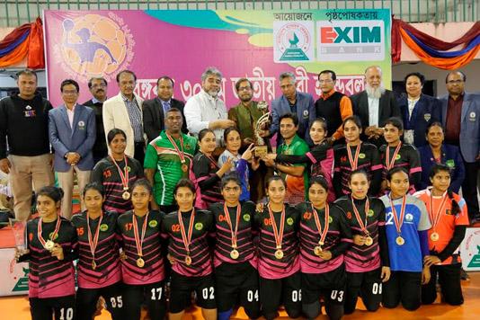 Ansar retain Women's Handball title