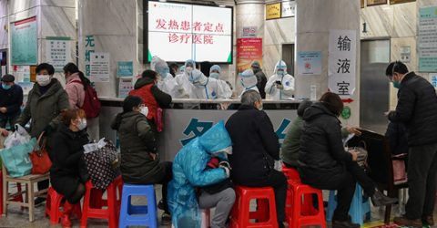 China virus death toll jumps to 41, cases soar to nearly 1,300