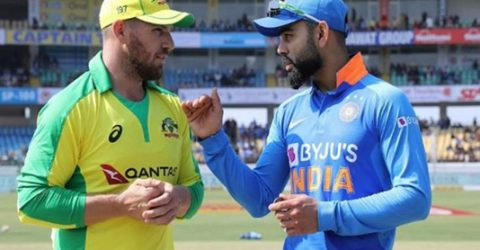 Australia win toss, bat in ODI decider against India