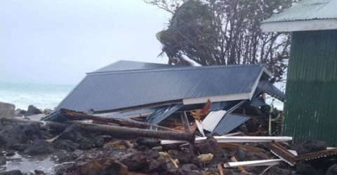 Two missing, 3,000 in shelters as Cyclone Tino hits Fiji