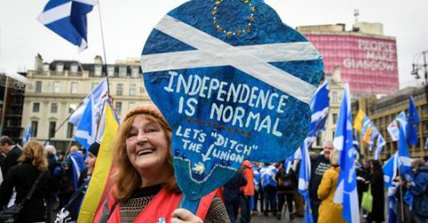 Brexit fuels calls for second Scottish independence vote
