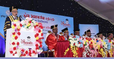 Launch social revolution against drug abuse, President asks students