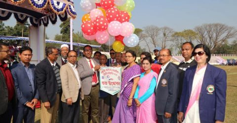 Bangabandhu Inter-University Athletics competition begins at RU