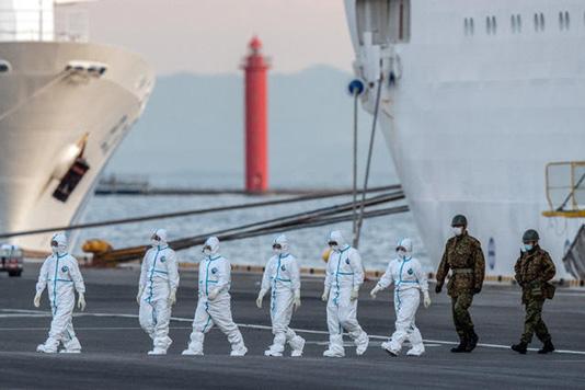 Japan cruise ship virus cases jump to 218