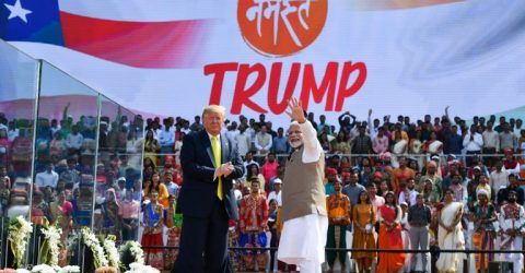 Trump hails 'exceptional' Modi at huge India rally
