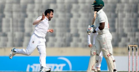 Bangladesh keeps them aloft despite Ervine's century