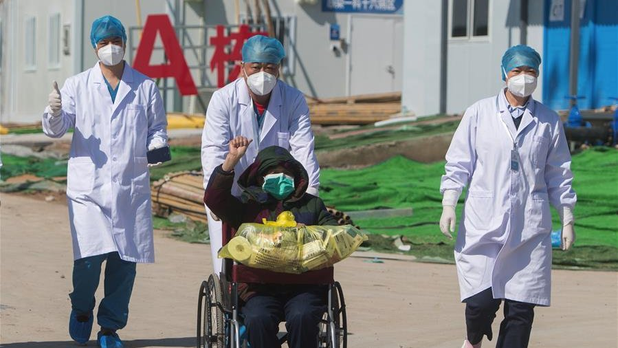 Chinese hospitals discharge 12,552 recovered patients of coronavirus infection