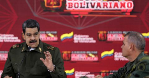 Maduro says 'not afraid of military combat' in Venezuela