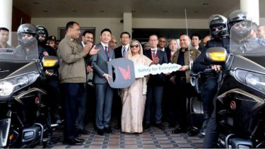 Honda's two flagship motorcycles handed over to SSF