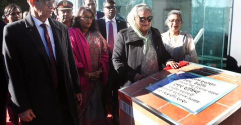 PM inaugurates Bangladesh's Chancery Building in Rome