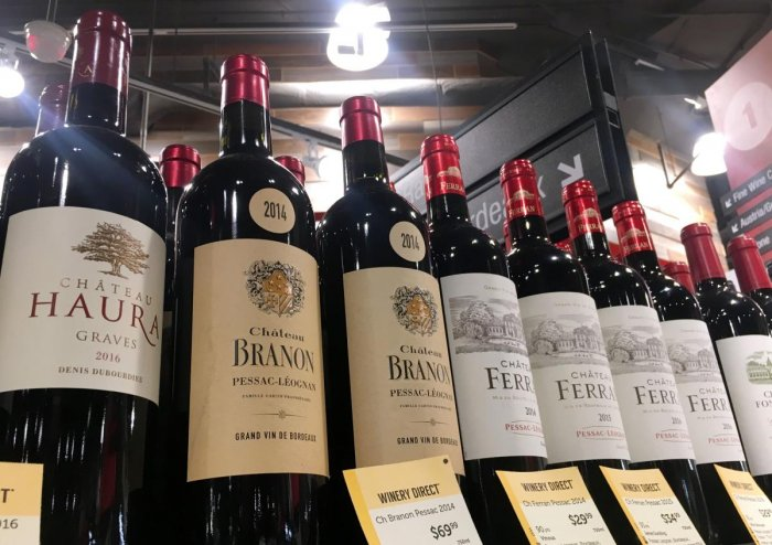 French wine exports to US plunge in wake of Trump tariffs