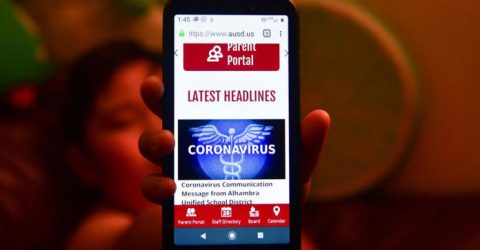 Internet giants fight spread of coronavirus untruths