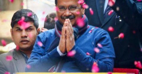 Aam Aadmi Party headed for second term in Delhi, BJP distant second