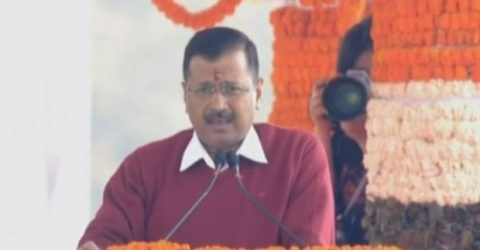 Kejriwal sworn in as Delhi chief minister for third time