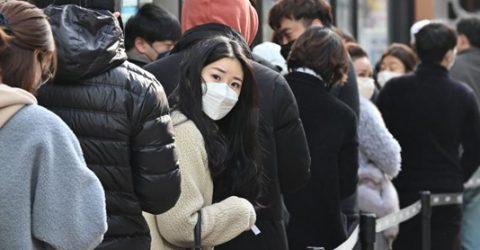 S. Korea reports 594 more coronavirus cases, total 2,931