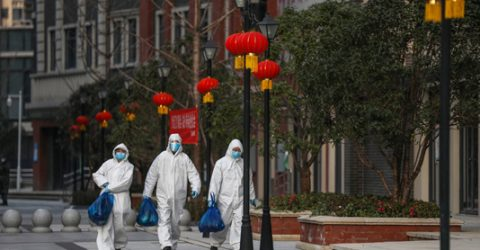 Drop in new China virus cases as toll reaches 2,345: govt