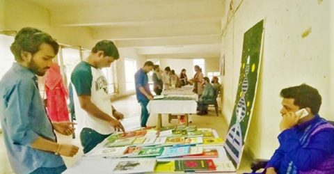 3-daylong book fair launched at JU