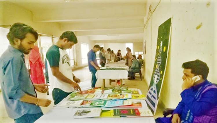 3-daylong book fair launched at JU