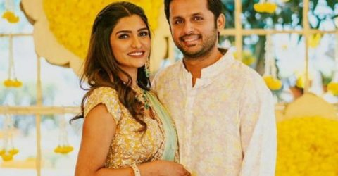 Nithiin gets engaged to  longtime girlfiend Shalini