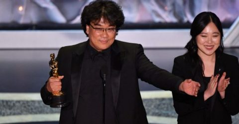 """Parasite"" wins Oscar for best international feature"