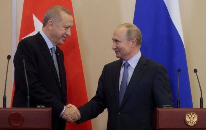 Putin, Erdogan discuss Syria's Idlib by phone