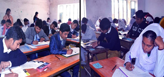 SSC exams held peacefully in Dinajpur Education Board