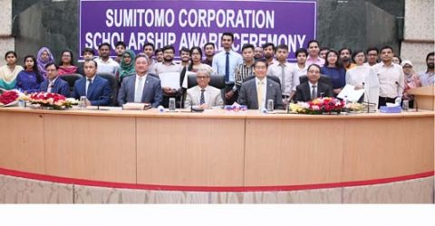 40 DU students get Sumitomo scholarship