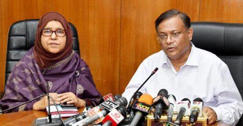 BNP spreading confusing messages on coronavirus: Hasan