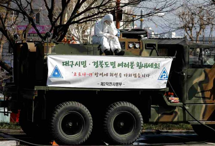 South Korea sees lowest new virus infections for 2 weeks