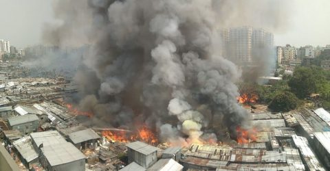 Probe Committee formed over fire at Rupnagar slum