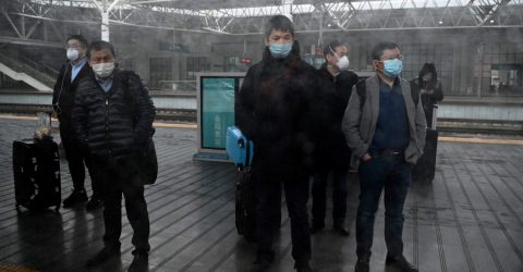 China reports 125 new virus cases, lowest number in six weeks