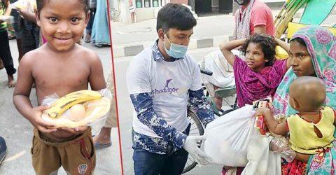 Shodagor came forward to in help needy people
