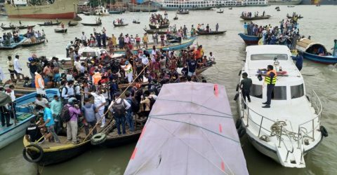 28 bodies recovered after launch capsizes in Buriganga