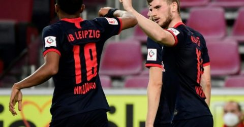 Werner's Leipzig 'back on course' for Champions League with Cologne win