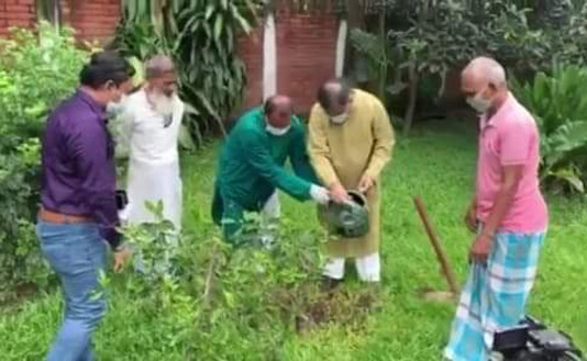 Hasan for protecting nature to protect people from diseases, viruses